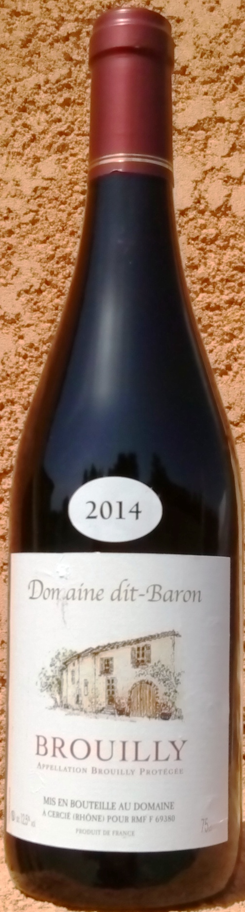 BROUILLY 2017 Domaine dit Baron