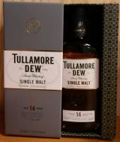 TULLAMORE DEW Single Malt Irish Whiskey 14 ans 41,3%