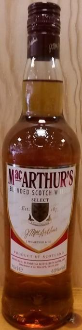 MAC ARTHUR'S Blended Scotch Whisky 40%