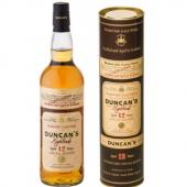 DUNCAN'S 12 ans d'âge Blended Scotch Whisky 40%