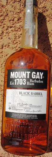 RHUM MOUNT GAY Black Barrel 43% vol